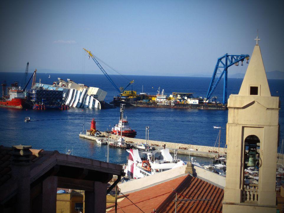 Galileo Spezial - Costa Concordia: die größte Schiffsbergung aller Zeiten ... - Bildquelle: ProSieben