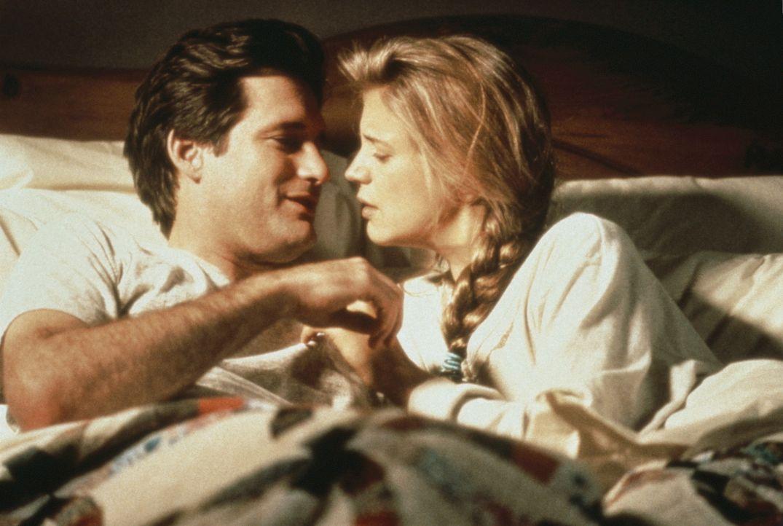 Nach 10 langen Ehejahren ist die Luft raus. Peters (Bill Pullman, l.) attraktive Gattin Kathy (Harley Jane Kozak, r.) flüchtet sich in Tagträume v... - Bildquelle: Orion Pictures Corporation
