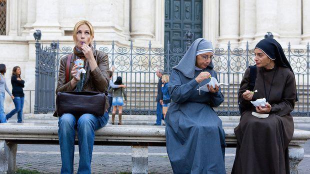 Eat, Pray, Love: Eine Frau (Julia Roberts, l.) auf der Suche nach sich selbst...