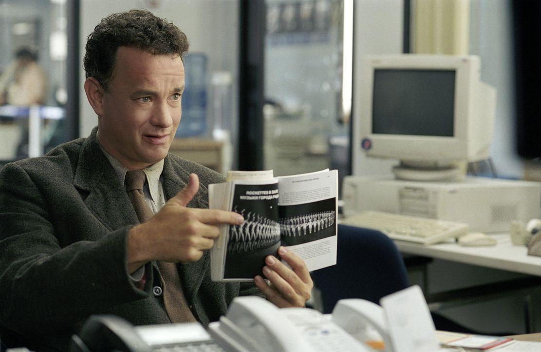 Viktor (Tom Hanks) kämpft Tag für Tag gegen die Tücken der Flughafenbehörde, um endlich an sein Ziel zu gelangen ... - Bildquelle: Merrick Morton DreamWorks Distribution LLC
