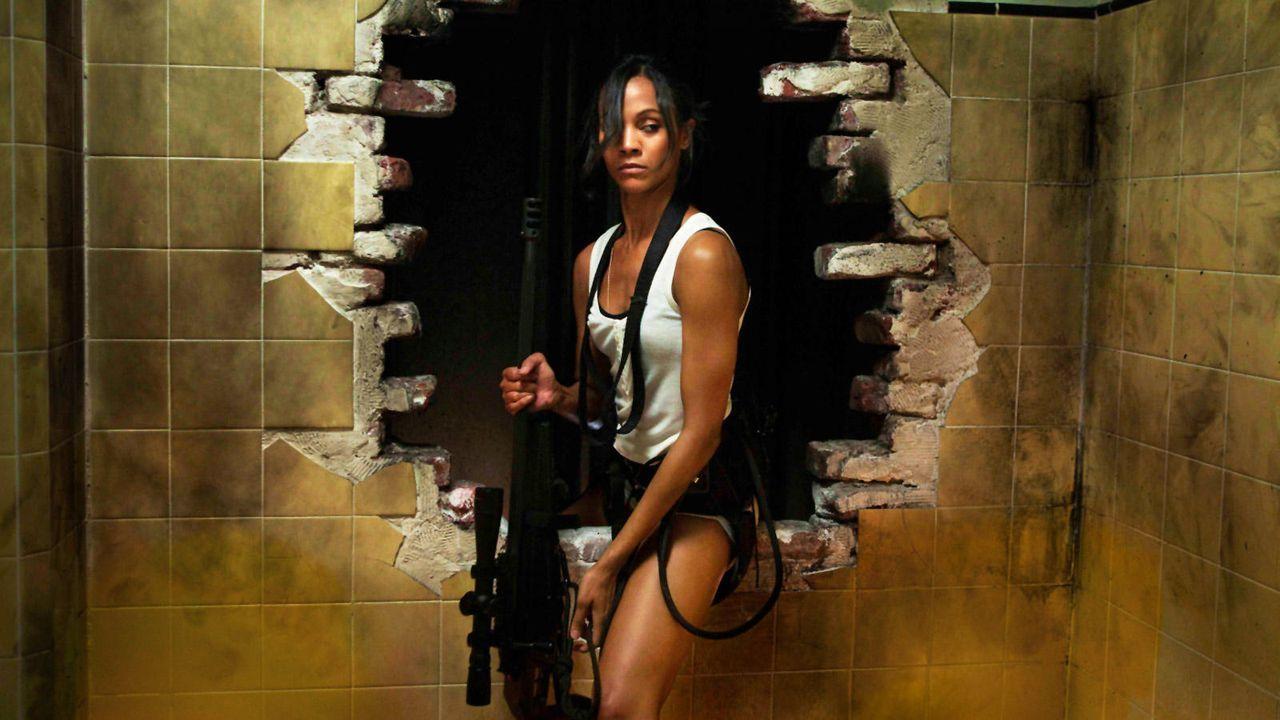 """Zoe Saldana in """"Colombiana"""" - Bildquelle: Universum Film (Colombiana - Auf DVD erhältlich)"""