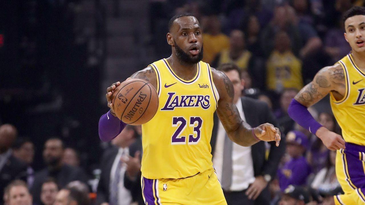 6. LeBron James: 74 Triple Doubles - Bildquelle: 2018 Getty Images