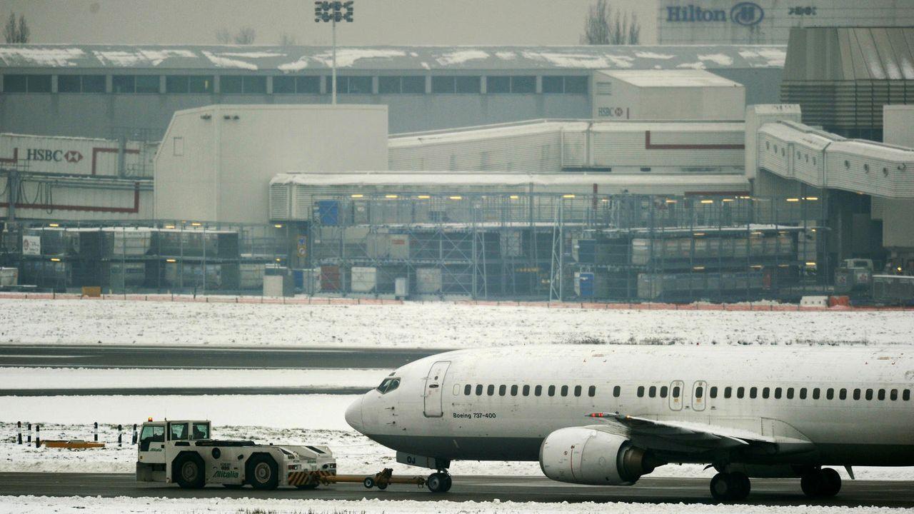 London Heathrow Airport - Bildquelle: AFP / ADRIAN DENNIS