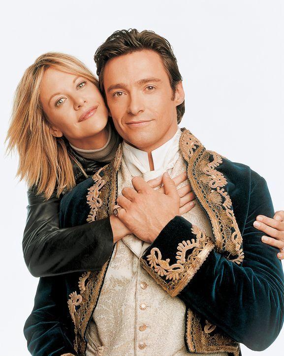 Zwischen ihnen liegen 130 Jahre, dennoch verlieben sich Kate (Meg Ryan, l.) und Leopold (Hugh Jackman, r.) ineinander. Doch eines Tages muss der vik... - Bildquelle: 20th Century Fox of Germany