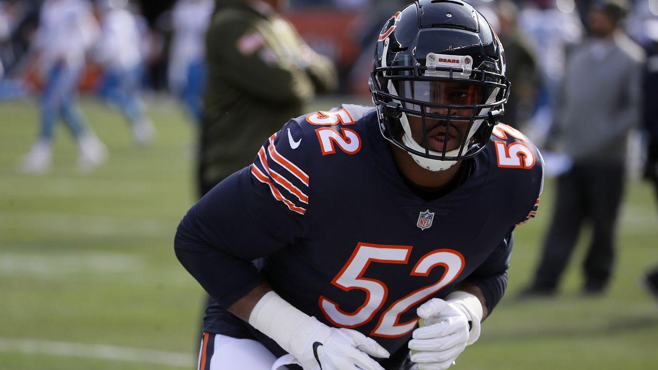 Platz 2: Khalil Mack (Chicago Bears) - Bildquelle: 2018 Getty Images