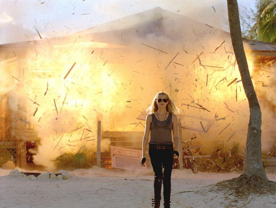 Nachdem ihre Beschützerin eiskalt ermordet wurde, entschließt sich die Nummer 6 (Teresa Palmer) auf der Todesliste der Mogadorianer, gegen ihre un... - Bildquelle: DreamWorks II Distribution Co., LLC..  All rights reserved
