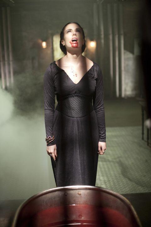Vampirkönigin Lilith (Mia Kirshner) träumt von der Weltherrschaft, als ihr Stella den Kampf ansagt ... - Bildquelle: 2010 Stage 6 Films, Inc. All Rights Reserved.
