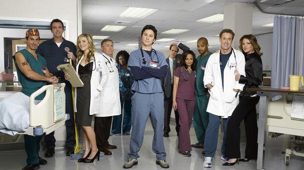 (7. Staffel) - Die Truppe vom Sacred Heart Hospital: (v.l.n.r.) Dr. Todd Quin...