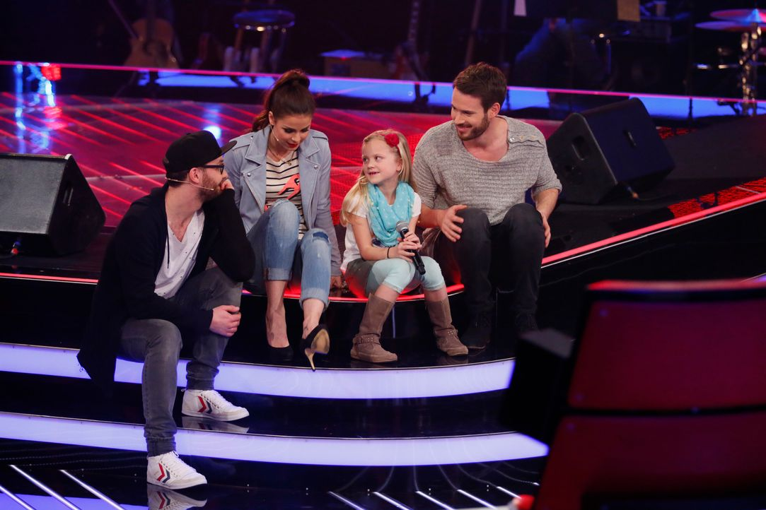 The-Voice-Kids-s03e01-danach-Linnea-07 - Bildquelle: SAT.1/ Richard Hübner
