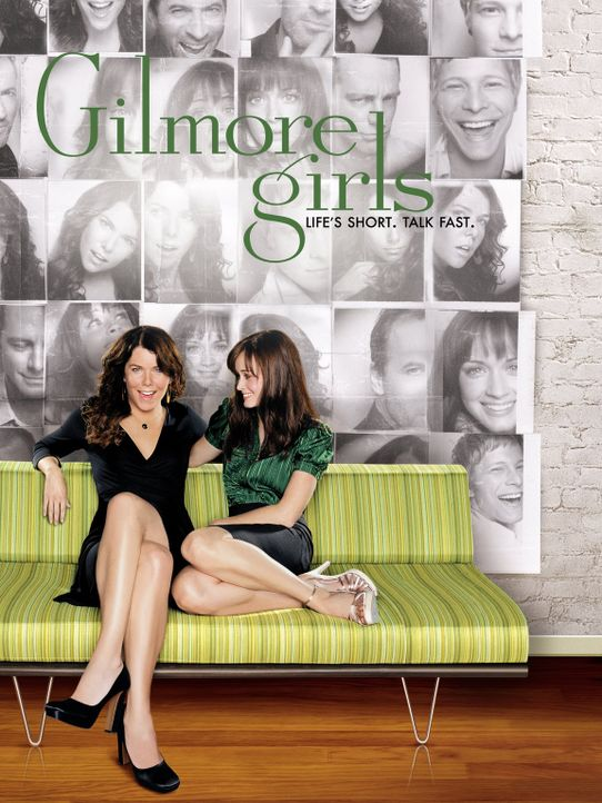 (7. Staffel) - Gilmore Gilrs - Artwork - Bildquelle: Warner Brother International Television