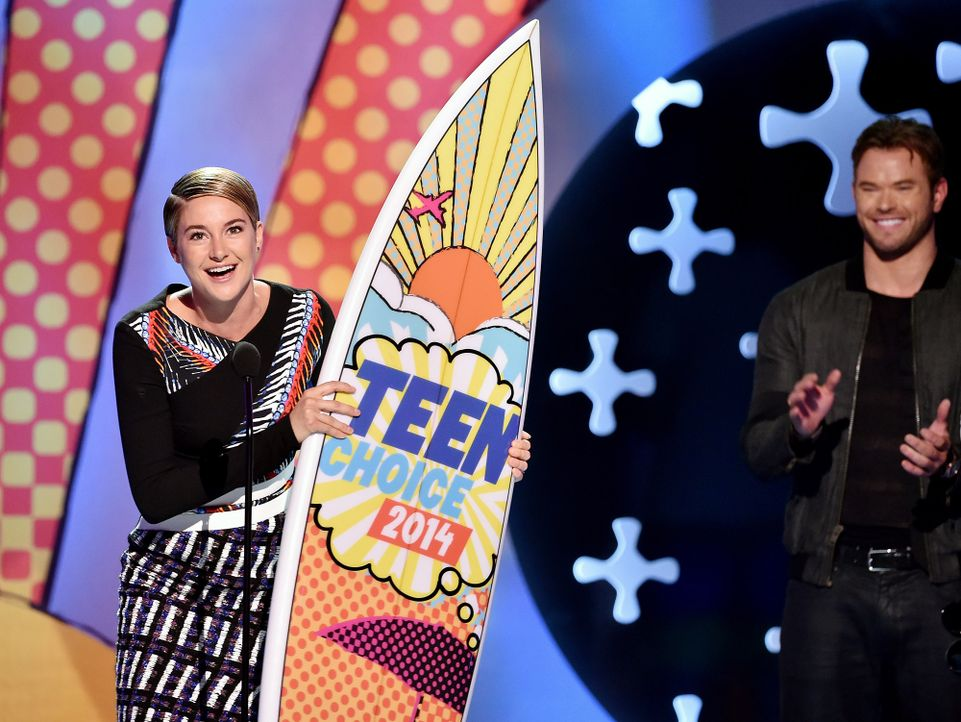 Teen-Choice-Awards-Shailene-Woodley-140810-getty-AFP - Bildquelle: getty-AFP