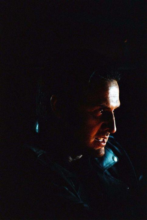 Als er in den Wagen von George Staub (David Arquette) einsteigt, beginnt Alans Höllentrip. Denn George rast wie verrückt und scheint alles über ihn... - Bildquelle: ApolloMedia