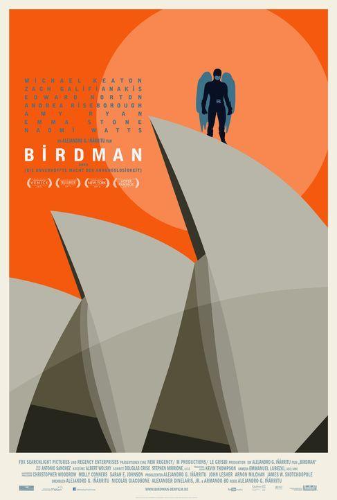 Birdman-Plakat-Sydney-20th-Century-Fox - Bildquelle: TWENTIETH CENTURY FOX