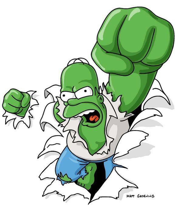 Bart hat mit seinen Comics über den wütenden Homer (Bild) großen Erfolg und schafft den Sprung ins Filmgeschäft. Doch Homer will gegen sein Image al... - Bildquelle: und TM Twenthieth Century Fox Film Corporation - Alle Rechte vorbehalten