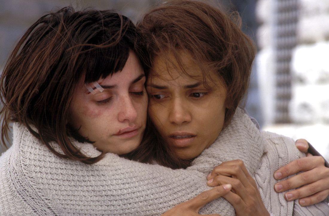 Geraten an einen aggressiven Geist: Miranda (Halle Berry, r.) und Chloe (Penélope Cruz, l.) ... - Bildquelle: 2004 Sony Pictures Television International. All Rights Reserved.
