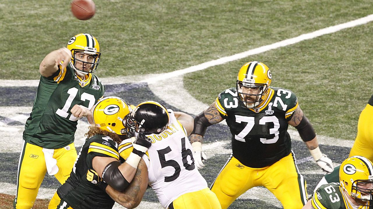 Super Bowl 2011: Green Bay Packers (31:25 gegen die Pittsburgh Steelers) - Bildquelle: imago sportfotodienst