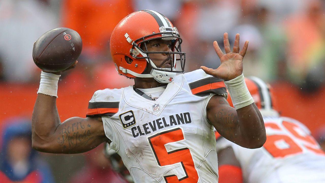 Tyrod Taylor (Cleveland Browns) - Bildquelle: imago/Icon SMI