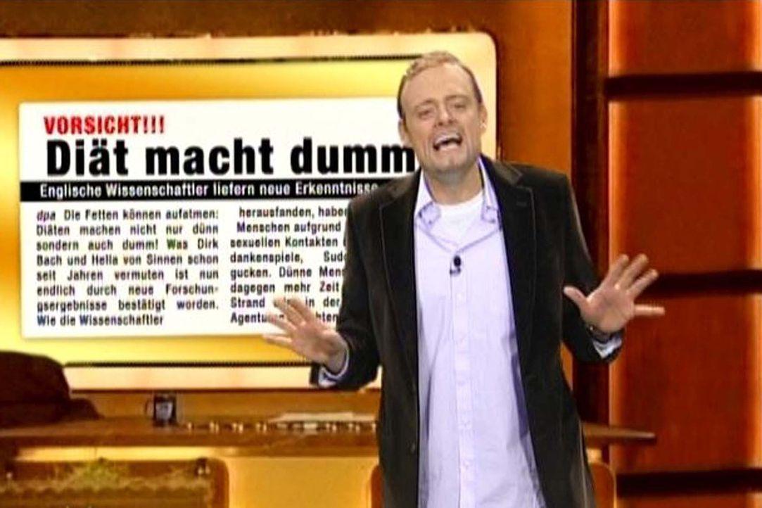 Switch reloaded: Diäten machen dumm ... - Bildquelle: Kai Schulz ProSieben