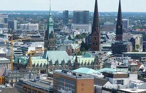 Hamburg-Vogelperspektive