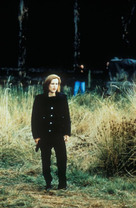 Auf der Suche nach der Wahrheit: Special Agent Dana Scully (Gillian Anderson) - Bildquelle: TM +   2000 Twentieth Century Fox Film Corporation. All Rights Reserved.