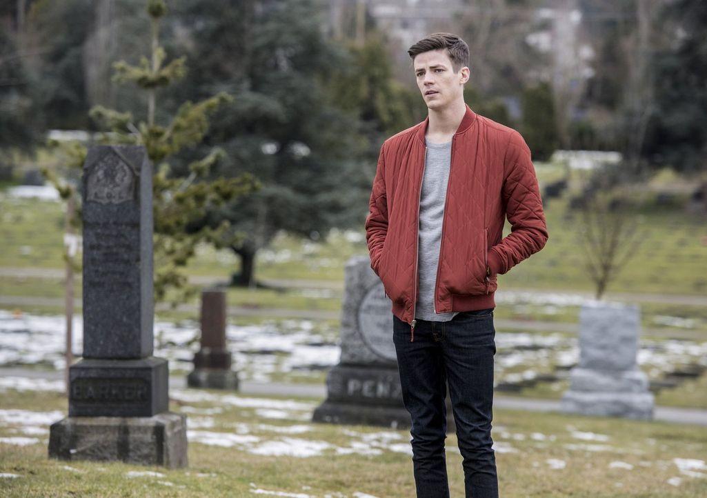 Wird Barry (Gustin Grant) in der Zukunft die dringend benötigten Antworten erhalten oder muss er mit einer ernüchternden Erkenntnis zurückkehren? - Bildquelle: 2016 Warner Bros.