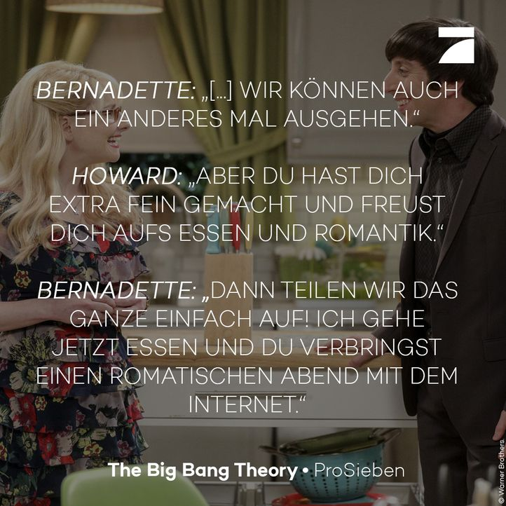 Staffel 11 Episode 21 - Bernadette und Howard - Bildquelle: Warner Bros. Television