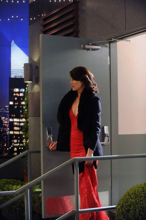Während die große Eröffnung von Teds Gebäude bevorsteht, erwartet Robin (Cobie Smulders) eine große Überraschung ... - Bildquelle: 2012 Twentieth Century Fox Film Corporation. All rights reserved.