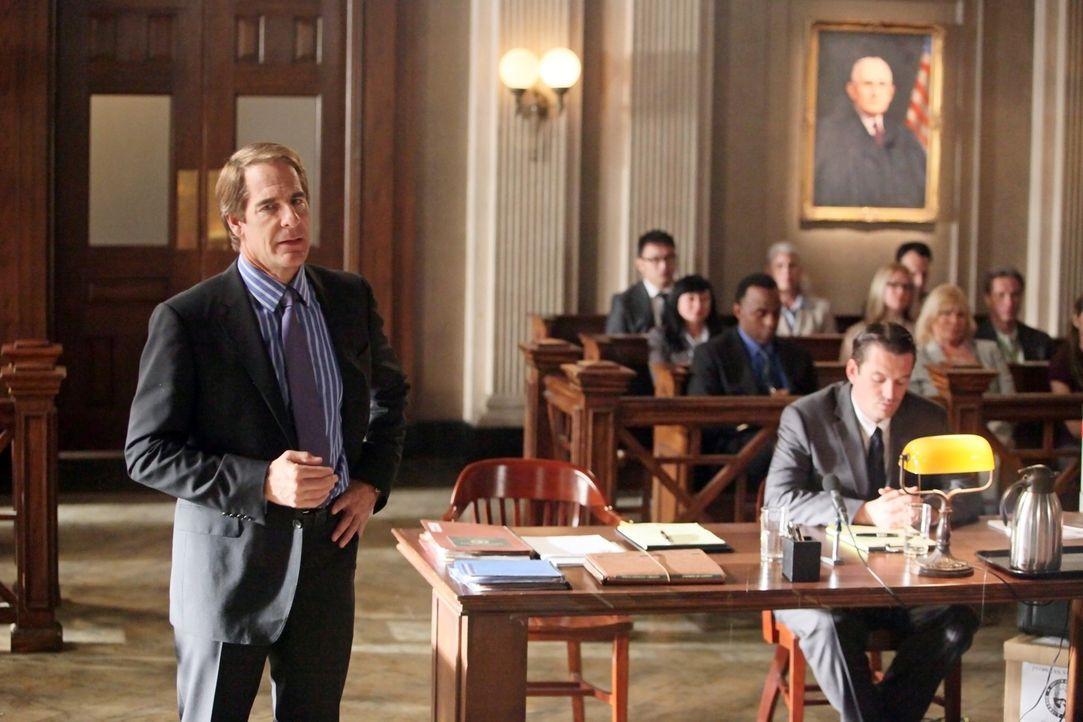 Versucht alles, um das Gericht von Brees Unschuld zu überzeugen: Anwalt Trip Weston (Scott Bakula, l.) ... - Bildquelle: ABC Studios