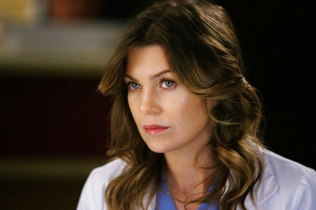 Wird mit ihrem Vater konfrontiert: Meredith (Ellen Pompeo) ... - Bildquelle: Touchstone Television