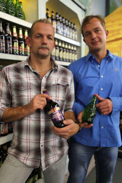 1300 verschiedene Biere aus fünf Kontinenten! Ob äthiopisches Bier, Buddha-Bier aus China, spanisches Cerveza oder Luxus-Bier für 14 Euro  - im G... - Bildquelle: kabel eins