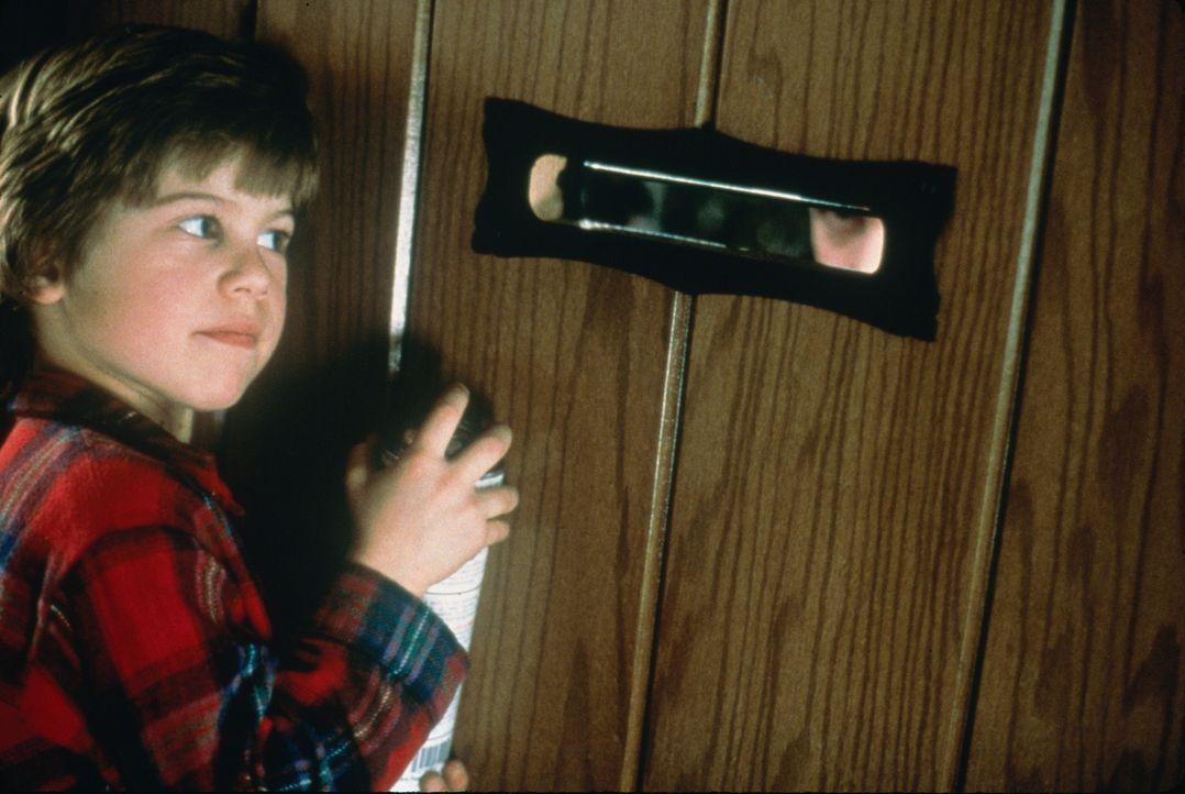 Alex Pruitt (Alex Linz, l.) regelt das Problem mit den Einbrechern auf seine eigene Art und Weise ... - Bildquelle: 1997 Twentieth Century Fox Film Corporation. All rights reserved.