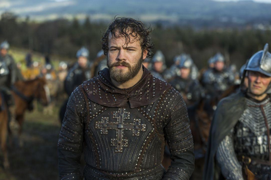 Unterliegt mit seiner Armee der Streitmacht der Nordmänner und muss den Rückzug antreten: Aethelwulf (Moe Dunford) ... - Bildquelle: 2016 TM PRODUCTIONS LIMITED / T5 VIKINGS III PRODUCTIONS INC. ALL RIGHTS RESERVED.