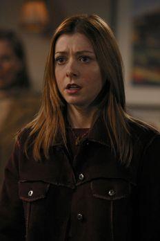 Buffy - Nach einem sehnsüchtigen Kuss mit der möglichen Jägerin Kennedy, verw...