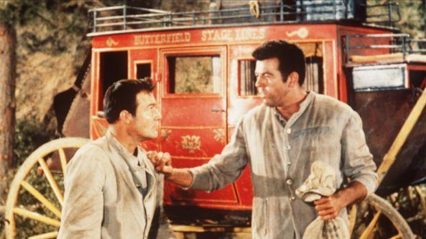Vance Allen (Logan Field, l.) und der Killer Pike (Robert Tetrick, r.) sind a...