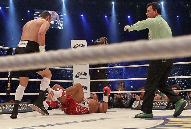 Klitschko vs. Solis: Ein sehr kurzer Prozess - Bildquelle: Getty