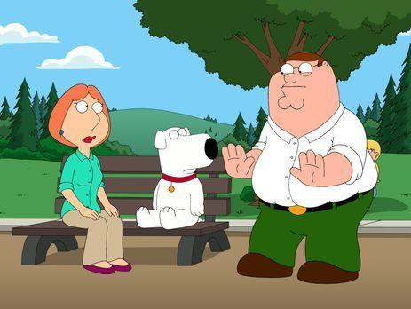 Family Guy - Verzweifelt auf der Suche nach Chris und Stewie, die sich im Wal...