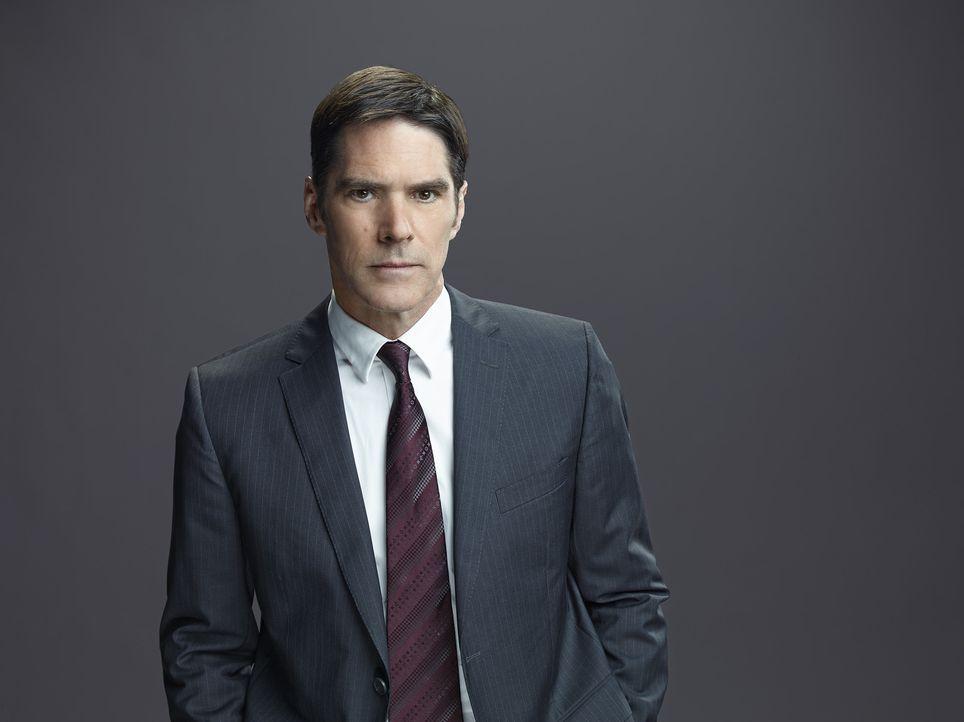 (10. Staffel) - Special Agent Aaron Hotchner (Thomas Gibson) bringt mit seinem Kollegen, jeden Serientäter zur Strecke ... - Bildquelle: Cliff Lipson ABC Studios