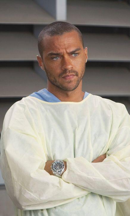 Gerät mit Mark aneinander: Jackson (Jesse Williams) ... - Bildquelle: ABC Studios