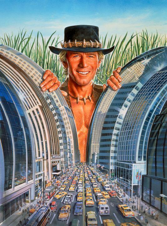 Mick 'Crocodile' Dundee (Paul Hogan) ist ein knallharter Abenteurer, der im australischen Busch zu Hause ist. Als er eines Tages von einer Journalis... - Bildquelle: Paramount Pictures