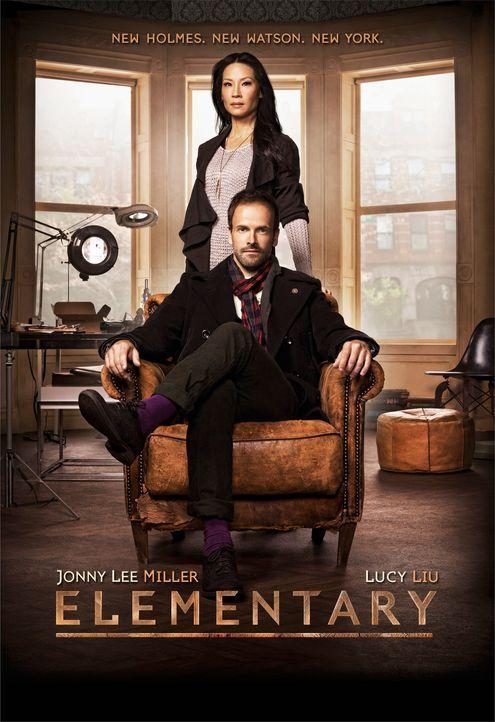 (1. Staffel) - Auf ihre ganz eigenwillige Weise, lösen Sherlock Holmes (Jonny Lee Miller, vorne) und Joan Watson (Lucy Liu, hinten) neue Kriminalfäl... - Bildquelle: CBS Television
