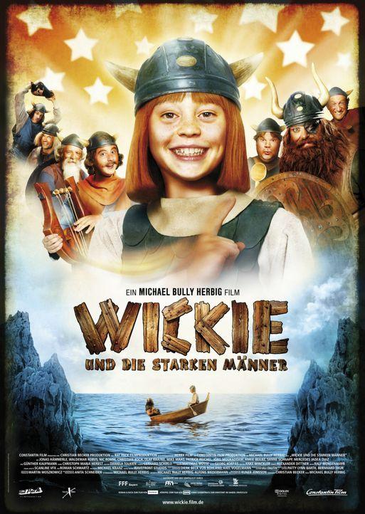 Wickie (Jonas Hämmerle) und die starken Männer - Plakatmotiv ... - Bildquelle: 2009 Constantin Film Verleih GmbH