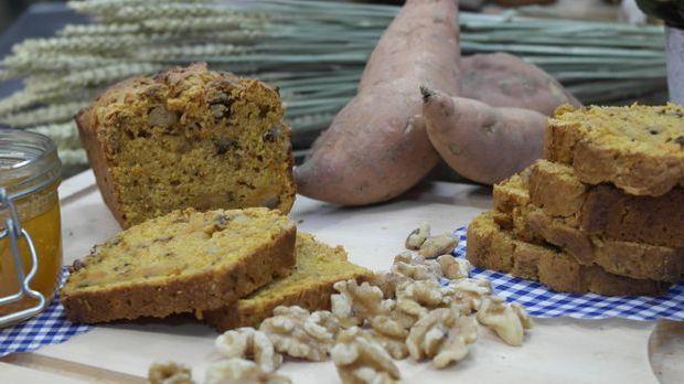 Das Rezept aus Enie backt: Brot mit Süßkartoffeln