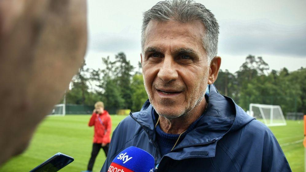 Der iranische Nationaltrainer Carlos Queiroz - Bildquelle: AFPSIDALEXANDER NEMENOV