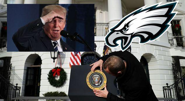 Diese Eagles-Profis pfeifen auf Besuch im Weißen Haus - Bildquelle: 2017 Gett...