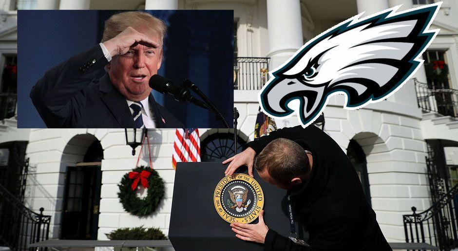 Diese Eagles-Profis pfeifen auf Besuch im Weißen Haus - Bildquelle: 2017 Getty Images