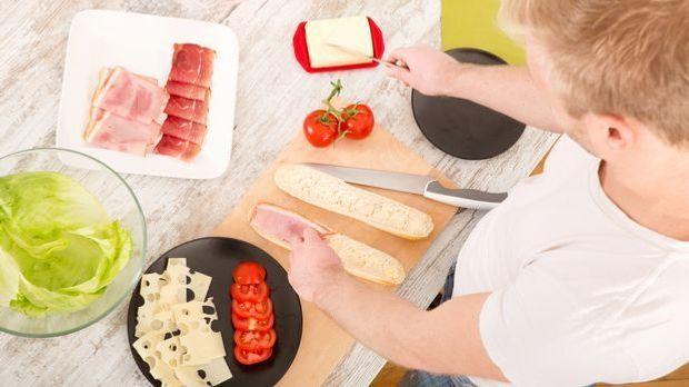 Abnehmen beim Abendessen