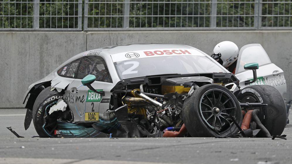 Gary Paffett hat noch Tagträume vom Norisring-Crash - Bildquelle: LAT