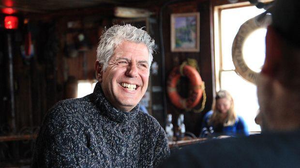 Geht auf kulinarische Entdeckungstour nach Massachusetts: Anthony Bourdain .....