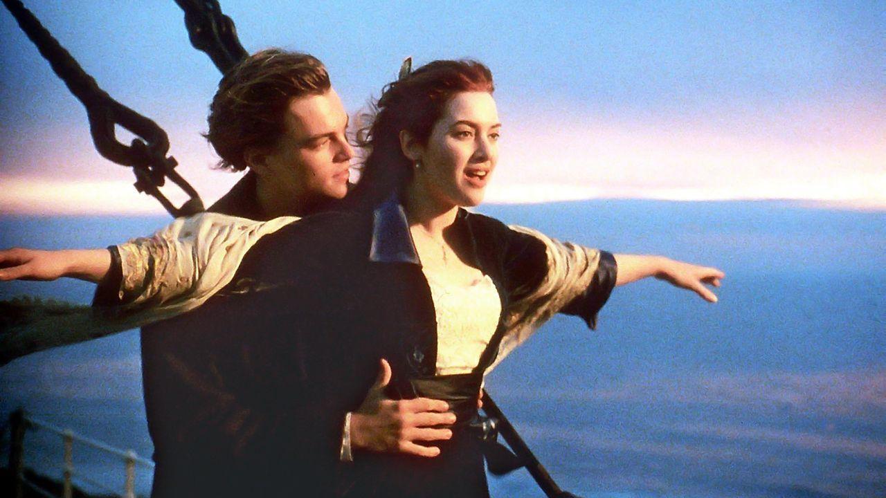 titanic-leonardo-dicaprio-kate-winslet-filmszene-dpa - Bildquelle: usage Germany only, Verwendung nur in Deutschland