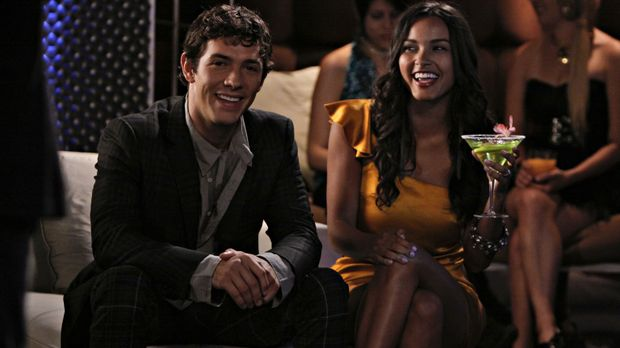 Was für ein glückliches Paar - doch wird das auch so bleiben? (v.l.n.r.: Mich...
